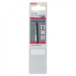Bosch Hss-r Metal Drill Bit 2 X 24 X 49mm 2608596785