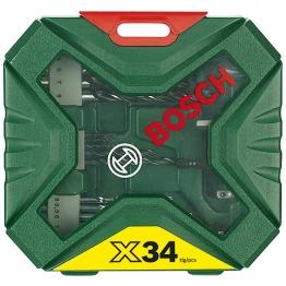 Bosch Classic 34pc Drill/driving Set 2607010608