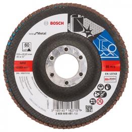 Bosch Flap Discs 115 X 22 X M G60 2608605451