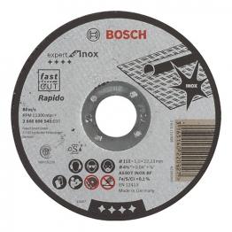 Bosch Cutting Disc Straight 115 X 22.2 X 1mm 2608600545