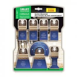 Smart 8 Piece Multi-tool Blade Set H8mak