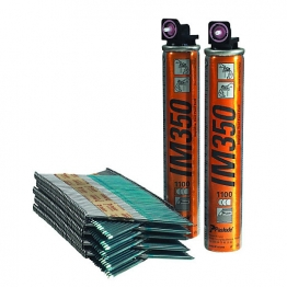 Paslode 141233 Bright Straight Nail Fuel Pack 90mm X 3.1mm