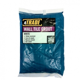 4trade Wall Tile Grout White 2kg