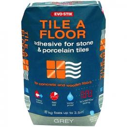 Evo-stik Tile A Floor Adhesive For Stone & Porcelain 20kg