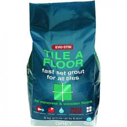 Evo-stik Tile A Floor Fast Set Grout Sandstone 5kg