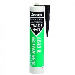Geocel Trademate Silicone Lead & Guterseal Black 310ml