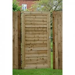 Superlap Sawn Timber Gate - 920mm X 1820mm
