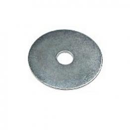 4trade Steel Mudguard Washer M5x25 Bright Zinc Plated Pk50