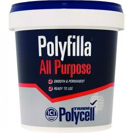 Polycell Polyfilla Trade All Purpose Ready Mixed Filler 1kg