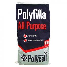 Polycell All Purpose Polyfilla Trade Powder Filler 10kg