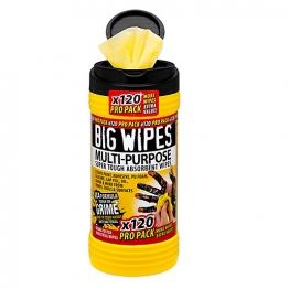 Big Wipes 4 X 4 Multi Purpose Wipes Propack 120