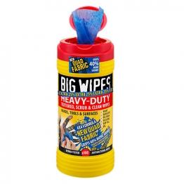 Big Wipes 4 X 4 Heavy Duty Wipes Red 80 + Van Bracket