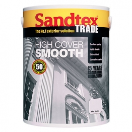 Sandtex Masonry Paint High Cover Smooth Mid Stone 5l
