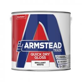 Armstead Trade Quick Dry Gloss Brilliant White 2.5l