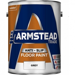 Armstead Trade Anti-slip Floor Paint Grey 5l