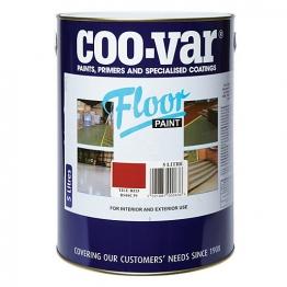 Coo-var Floor Paint Tile Red 5l