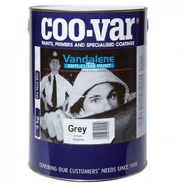 Coo-var Vandalene Anti Climb Paint Grey 4kg