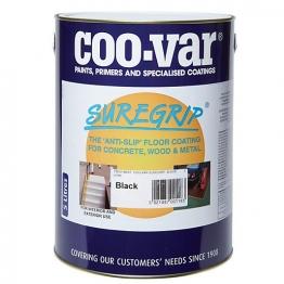 Coo-var Suregrip Anti-slip Floor Paint Black 5l