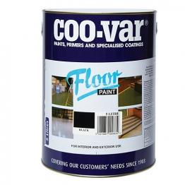 Coo-var Floor Paint Black 5l