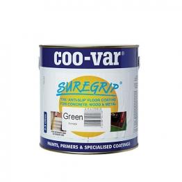 Coo-var Suregrip Anti-slip Floor Paint Green 2.5l