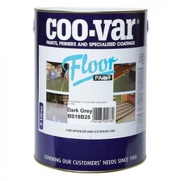Coo-var Floor Paint Dark Grey 5l