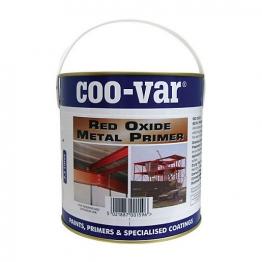 Coo-var Red Oxide Metal Primer 2.5l
