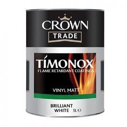 Ct Timonox Matt Emulsion Brilliant White 5l 5040579