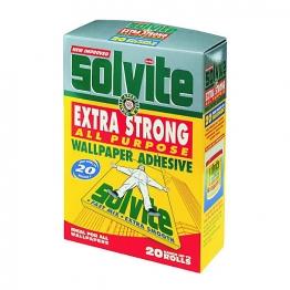 Solvite All Purpose Wallpaper Adhesive 20 Roll