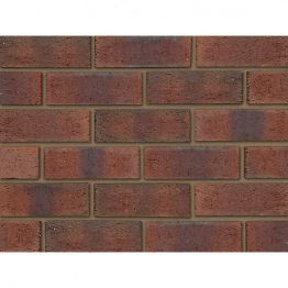 Ibstock Facing Brick Aldridge New Burntwood Red Rustic 73mm Pack 3292