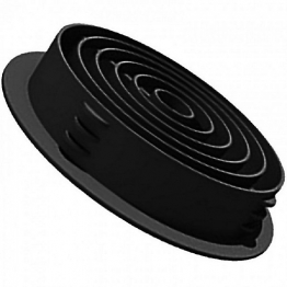 Manthorpe Soffit Vent 2440mm X 10 Black G800bl