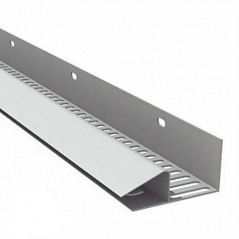 Manthorpe Soffit Vent Strip White 10 X 2440mm