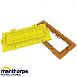 Manthorpe Flood Defence Airbrick G980 Terracotta