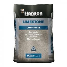 Supamix 25kg Limestone Chips Ss6mmlc25