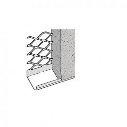 Expamet External Stainless Steel Render Stop Bead 20mm 3m