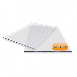 Axgard Clear Glazing Sheet 4mm Uv 1000mm X 2000mm