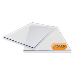 Axgard Clear Glazing Sheet 6mm Uv 500mm X 2000mm