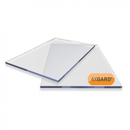 Axgard Clear Glazing Sheet 10mm Uv 2050mm X 1000mm