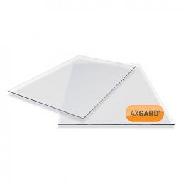 Axgard Clear Glazing Sheet 2mm Uv 1250mm X 1020mm