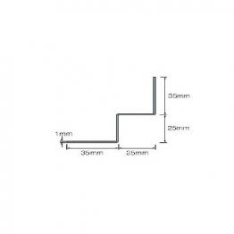 Cedral Internal Corner L=3m Alu C10 Blue Grey