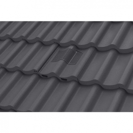 Manthorpe Double Pantile Tile Vent Slate Grey Gtv-dp-gr