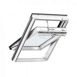 Velux Integra Solar Roof Window 1140mm X 1180mm White Polyurethane Ggu Sk06