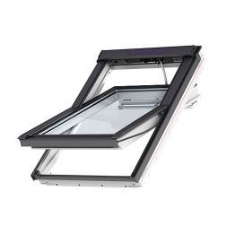 Velux Integra Electric Roof Window 1340mm X 1400mm White Paint Ggl Uk08