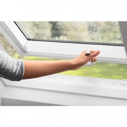 Velux Top-hung Roof Window 1140mm X 1180mm White Polyurethane Gpu Sk06