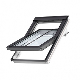 Velux Integra Electric Roof Window 1140mm X 1180mm White Paint Ggl Sk06