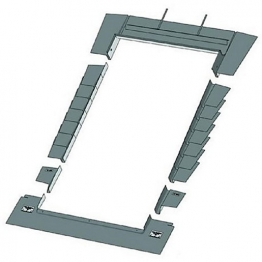 Keylite Plain Tile Roof Flashing 1340mm X 980mm Ptrf09