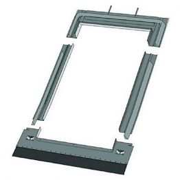 Keylite Deep Tile Roof Flashing 550mm X 980mm Dtrf02