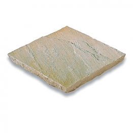 Bradstone Natural Sandstone Fossil Buff Paving Slab 300mm X 300mm X 22mm
