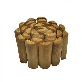 Forest Garden Log Roll Pressure Treated 1800mm X 150mm