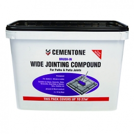 Cementone Wide Jointing Compound 20kg Buff