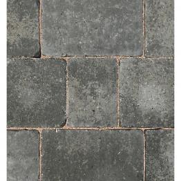 Bradstone Woburn Rumbled Concrete Block Paving Graphite 200mm X 134mm X 50mm
